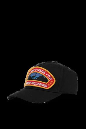 Baseball Cap in Black DSQUARED2