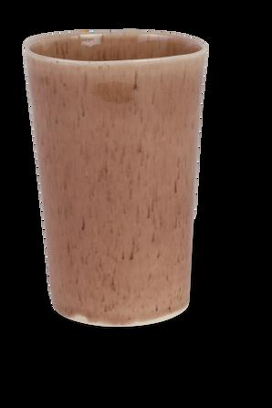 Doppio Set - 4 Tall Coffee Mugs in Pink MICHAL GELBARD