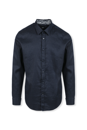 Slim-Fit Shirt in Black BOSS