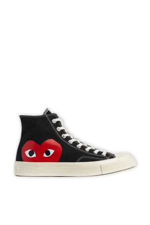 Play Converse Chuck Taylor in Black COMME des GARCONS