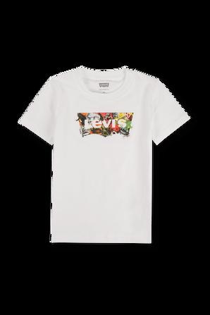 גילאי 2-4 חולצת באטווינג עם רקע ג`ונגל LEVI`S KIDS