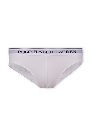 Low Rise Brief 3 Pack in White POLO RALPH LAUREN