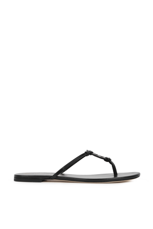 Miller Knotted Sandals in Black TORY BURCH
