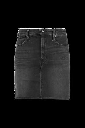 High Rise Denim Mini Skirt in Black Wash CALVIN KLEIN
