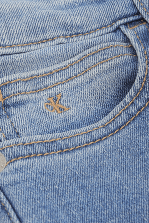 גילאי 4-16 מכנסי דנים סקיני בהירים CALVIN KLEIN
