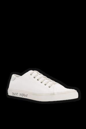 Malibu Low Top Sneakers in White SAINT LAURENT