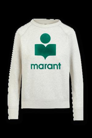 Milly Marant Sweatshirt in Grey and Green ISABEL MARANT