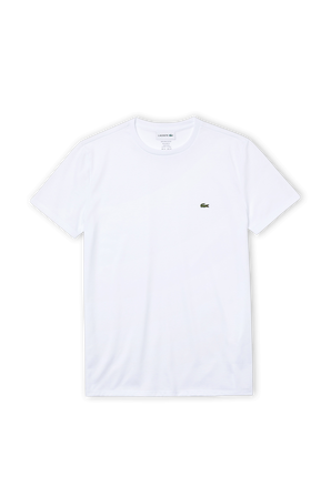 Crew Neck T-Shirt in White LACOSTE