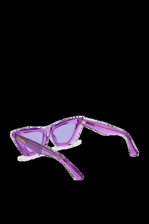 Tinted Lenses Sunglasses in Purple BOTTEGA VENETA