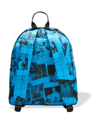 Lacoste X Polaroid  Printed Canvas Backpack LACOSTE