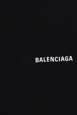 גילאי 2-10 מכנסיים קצרים בשחור BALENCIAGA KIDS