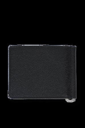 Wallet Grained Leather Black BOSS