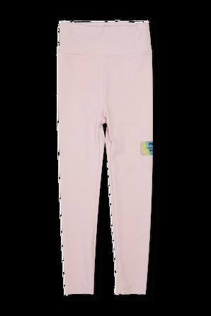 גילאי 6-16 מכנסי טייץ ארוכים בצבע ורוד FILA