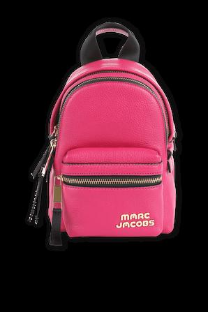 Magenta Trek Pack Leather Mini Backpack MARC JACOBS