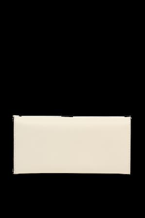 King Wallet in Cream Leather FENDI
