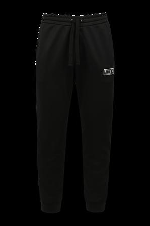 VLTN Jersey Pants in Black VALENTINO