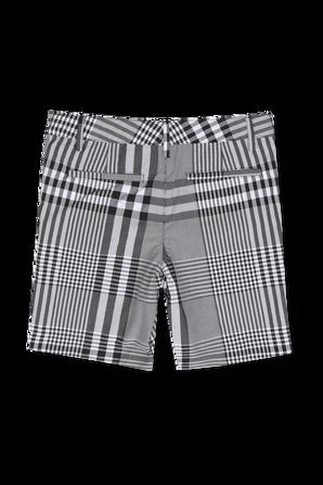 גילאי 4-12 מכנסיים קצרים מחוייטים משבצות BURBERRY