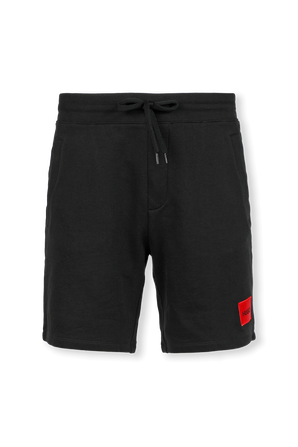 Relaxed-Fit Tracksuit Shorts in Black HUGO