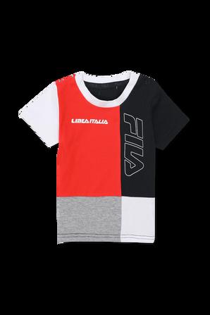 גילאי 6-24 חודשים סט מכנסיים וחולצה מולטי קולור עם לוגו FILA