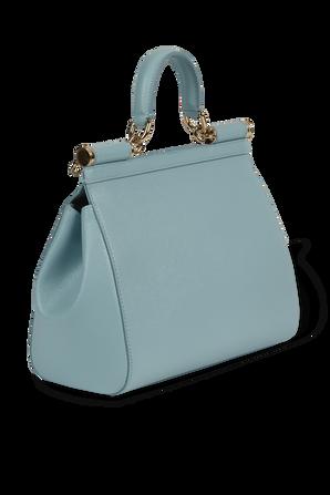 Medium Sicily Bag in Light Blue DOLCE & GABBANA