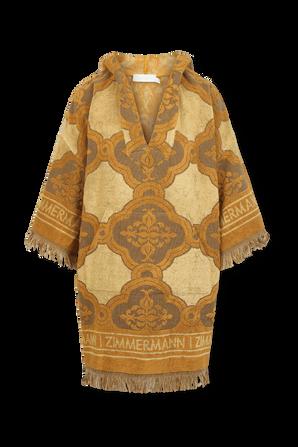Aliane Terry Towel Dress in Mustard ZIMMERMANN