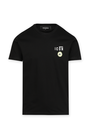 Fly Cotton Tshirt in Black DSQUARED2