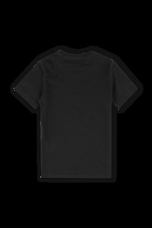 מידות 4-16 חולצת ICON בשחור DSQUARED2 KIDS