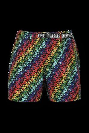 Grateful Dead Print Shorts in Multicolor LEVI`S