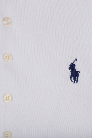 Slim Fit Stretch Polo Shirt in White POLO RALPH LAUREN