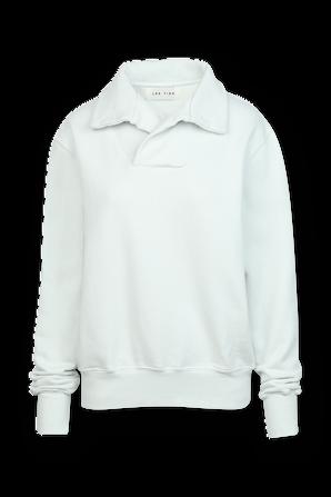 Yacht Pullover Sweatshirt in Mint Green LES TIEN