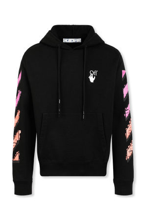 Arrows Print Sweatshirt in Black OFF WHITE