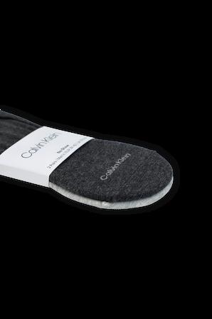 2Pack Logo Socks in Dark Grey CALVIN KLEIN