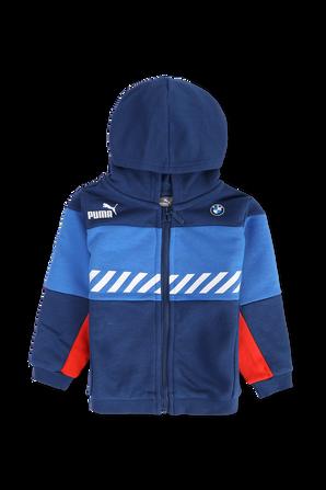 גילאי 6 חודשים-4 שנים חליפת טרנינג בגווני כחול ואדום PUMA KIDS