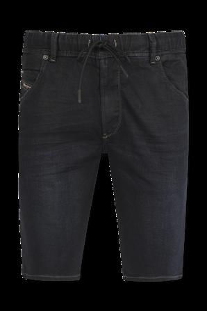 Krooshort JoggJeans in Black Wash DIESEL
