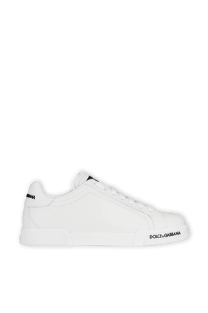 Low Top Sneakers in White DOLCE & GABBANA