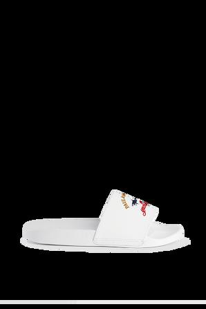 Logo Slides in White PAUL & SHARK