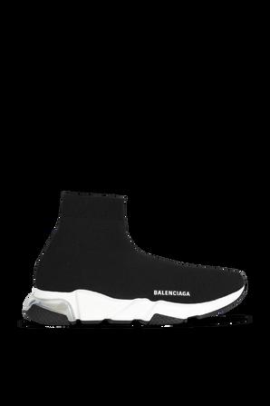 Speed Clear Sole Sneaker in Black BALENCIAGA