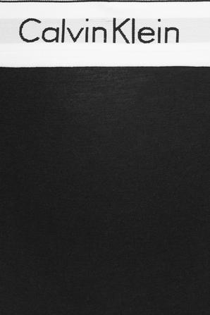 Maternity High Waisted Bikini Brief in Black- Modern Cotton CALVIN KLEIN