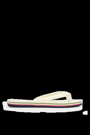 Mini Minnie Flip-Flop in Ivory TORY BURCH