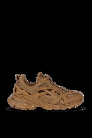 Track 2 Open Sneakers in Brown BALENCIAGA