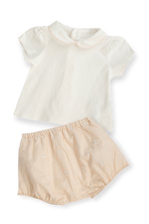 גילאי 1-18 חודשים מארז חולצה ומכנסיים CHLOE KIDS
