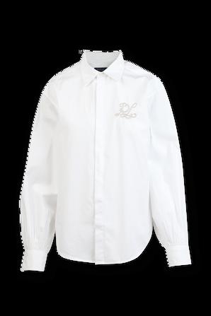 Long Sleeve Shirt in White POLO RALPH LAUREN