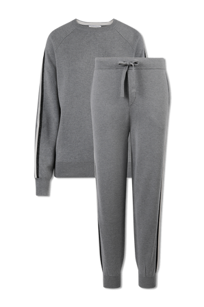 The Missy London Tracksuit in Grey OLIVIA VON HALLE