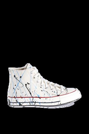 Chuck 70 Hi White  Base Sneaker CONVERSE