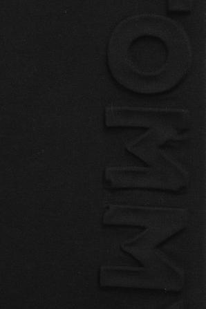 גילאי 4-6 מכנסי טרנינג בצבע שחור TOMMY HILFIGER KIDS