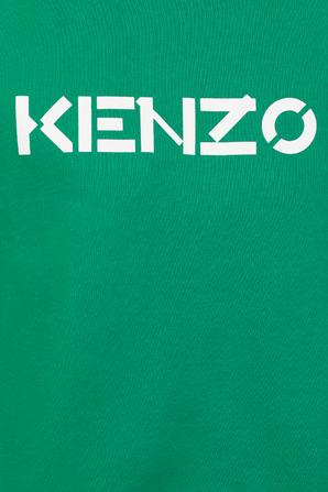 KENZO Logo Sweatshirt in Green KENZO