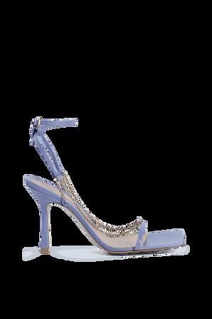 Strech Heeles Sandals in Lavender BOTTEGA VENETA