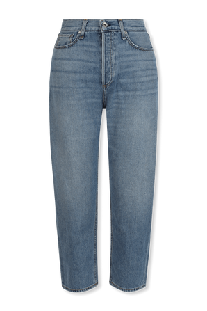 90s High-Rise Straight Jeans in Indigo RAG & BONE