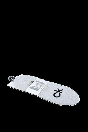 Sneaker Liner Socks in Grey CALVIN KLEIN