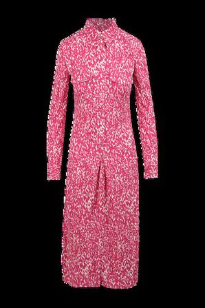 Celina Midi Dress in Pink ISABEL MARANT